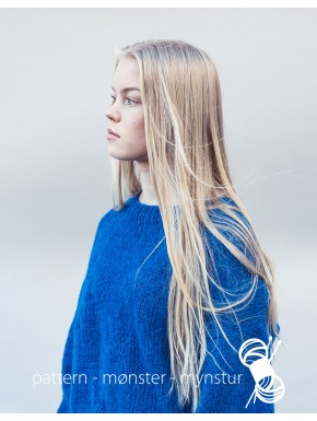 Blå trøje